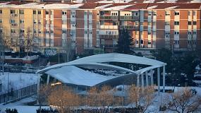 Foto de Los fabricantes reivindican la seguridad de las cubiertas de tejas incluso ante grandes cargas de nieve como las provocadas por Filomena