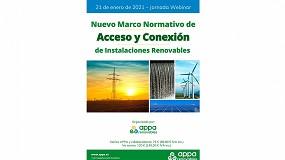 Foto de Appa Renovables organiza una jornada sobre la nueva normativa de Acceso y Conexión de renovables