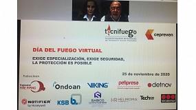 Foto de Gran acogida de la 1ª edición del Día del Fuego Virtual de Tecnifuego 2020