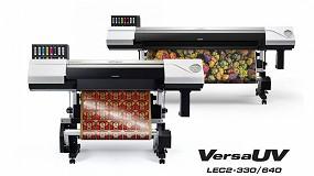 Foto de Roland DG lanza las impresoras/cortadoras VersaUV LEC2 y las impresoras planas de gran formato Serie S