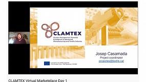 Foto de Empieza con éxito el Marketplace virtual del proyecto Clamtex