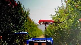 Foto de Kubota invierte en Tevel, fabricante de drones autónomos para la recolección de frutas