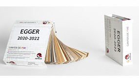 Foto de Cantisa dispone de cantos en stock para la colección de melaminas de Egger 2020-2022