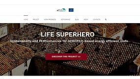 Foto de Nueva web del proyecto europeo Life Superhero que difunde el uso de la cubierta ventilada