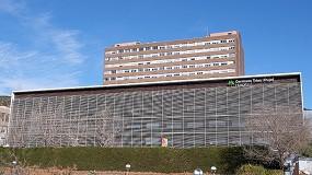Foto de Las ventanas Thermia, en el nuevo anexo de UCI del Hospital Can Ruti