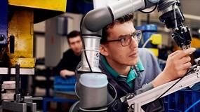 Foto de Universal Robots muestra las ventajas de la robótica como herramienta educativa