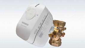 Foto de Siemens lanza actuadores para válvulas de pequeño tamaño más conectados y silenciosos
