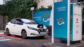 Foto de Repsol y Nissan colaborarán en la promoción de la movilidad eléctrica
