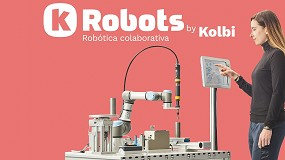 Foto de Kolbi presenta K-Robots, su nueva división de robótica colaborativa