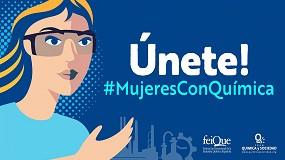 Foto de Feique y Foro Química y Sociedad lanzan la iniciativa #MujeresConQuímica para dar visibilidad a las mujeres del sector químico español