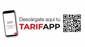 Foto de TarifApp, la nueva aplicación de Mitsubishi Electric para la gestión de propuestas y presupuestos para aplicaciones domésticas dirigidas a instaladores