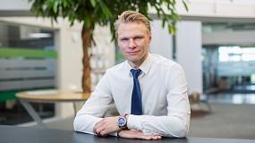 Foto de Kim Povlsen, nuevo presidente de Universal Robots