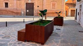 Foto de Martín Mena suministra mobiliario urbano multifuncional al Ayuntamiento de Faura (Valencia)