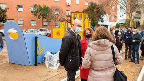 Foto de Sevilla cuenta con un nuevo parque infantil en la calle Japón