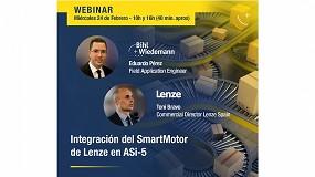 Foto de Bihl+Wiedemann y Lenze organizan el webinar Integración del Smart Motor de Lenze en ASi -5