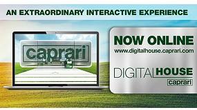 Foto de Bombas Caprari presenta una plataforma virtual dedicada a eventos especiales, promociones y novedades del producto