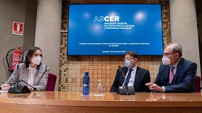 Foto de El Ministerio de Industria y el Clúster Cerámico acuerdan reactivar la agenda sectorial y mantener reuniones interministeriales