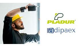 Foto de Pladur renueva su acuerdo con Adipaex y refuerza su compromiso con los instaladores