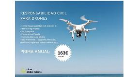 Foto de Cicor ofrece un seguro de Responsabilidad Civil para el uso de drones