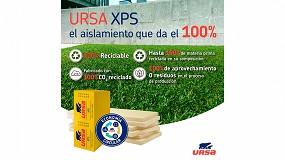 Foto de Ursa fabrica su XPS con hasta un 100% de material reciclado