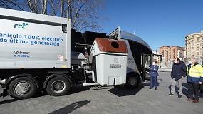 Foto de Valladolid probará el camión eléctrico de recogida de residuos de Irizar