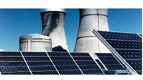 Foto de Una central nuclear sobre el tejado