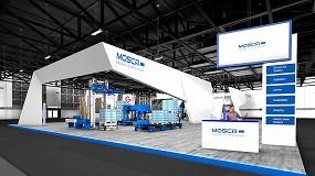 Foto de Portal web con información multimedia: el stand virtual de Mosca estará online