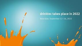Foto de Drinktec se pospone hasta septiembre de 2022