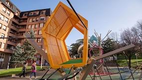 Foto de Bilbao concluye las nuevas zonas deportivas y de juegos del parque Eskurtze de Irala