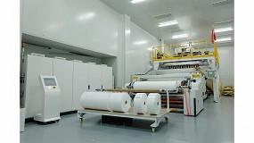 Foto de Imvolca presenta una línea de producción para la fabricación de meltblown