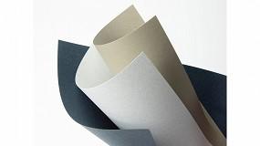 Foto de Antalis distribuye la gama de papel Favini Refit, elaborado con residuos de lana y algodón de la industria textil