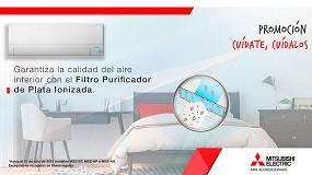 Foto de Nueva promoción de Mitsubishi Electric que apuesta por la Calidad de Aire Interior