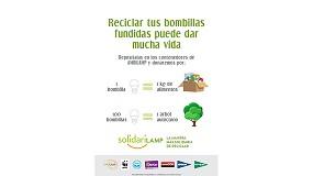 Foto de Ambilamp lleva 'Solidarilamp' a El Corte Inglés, Hipercor, Supercor y Bricor para fomentar el reciclaje de residuos de la iluminación