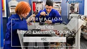 Foto de Agremia destina el 0,7% de su beneficio a la Asociación Norte Joven para la formación de jóvenes en riesgo de exclusión social