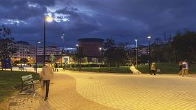 Foto de Renovación del alumbrado exterior del parque Yamaguchi y del planetario de Pamplona con LED 2200 K