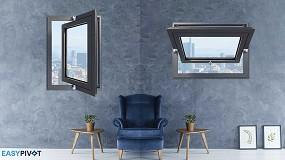 Foto de Master Italy presenta Easy Pivot, bisagras de diseño para ventanas basculantes