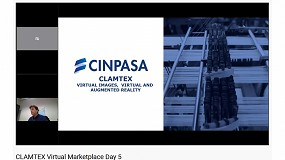 Foto de Cinco miembros de la AEI Tèxtils participan activamente en el Marketplace Virtual de Clamtex ante más de 180 asistentes