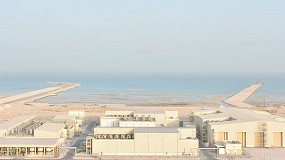 Foto de La plataforma de IA maestro de la desaladora de Umm Al Houl, en Catar, incluida en el fondo de descarbonización de Acciona