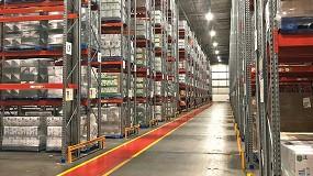 Foto de AR Racking reconfigura el almacén del proveedor logístico Great Bear logrando una capacidad de 17.400 palés