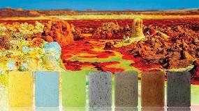 Foto de Ampacet presenta la colección Dallol con colores vibrantes procedentes de África