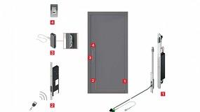 Foto de Roto Safe E amplía sus posibilidades con la innovadora conexión 'Plug & Play' para puertas exteriores