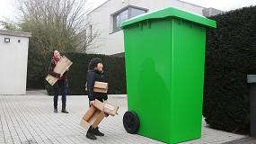 Foto de Casi la mitad de los españoles está cerca de quedarse sin espacio en los cubos de reciclaje