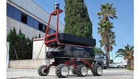 Foto de Robotnik y Eurecat desarrollan un cobot para el transporte autónomo de materiales en exteriores en la industria y la construcción
