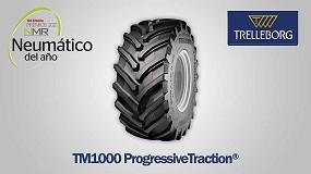 Foto de Trelleborg TM1000 ProgressiveTraction, mejor neumático agrícola de 2021