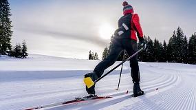 Foto de Un film de PMMA que protege y mejora los esquíes de fondo