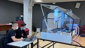 Foto de Festo premia a unos estudiantes por el diseño de un invernadero automatizado