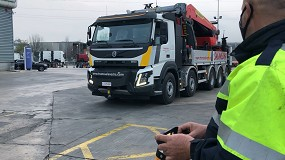 Foto de Caso de éxito Tele Radio-Volvo en el control a distancia de un camión grúa