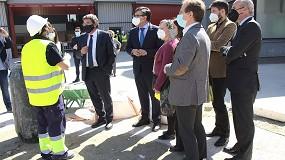 Foto de El ministro de Inclusión, Seguridad Social y Migraciones visita la sede de la Fundación Laboral de la Construcción en Madrid y plantea posibles vías de colaboración