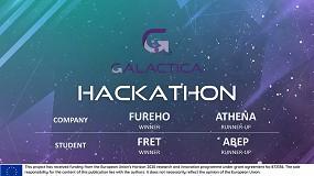 Foto de Galactica entrega 50.000€ en premios a los ganadores del primer hackathon