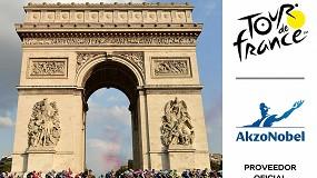 Foto de AkzoNobel, patrocinador oficial del Tour de Francia 2021